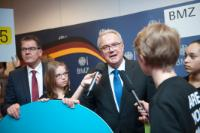 """Illustration of """"Launch of the 'Action/2015' campaign in Berlin, with the participation of Neven Mimica, Member of the EC"""""""