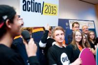 """Illustration of """"Lancement de la campagne 'Action/2015' à Berlin, avec la participation de Neven Mimica, membre de la CE"""""""