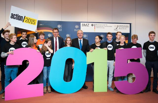 Launch of the 'Action/2015' campaign in Berlin, with the participation of Neven Mimica, Member of the EC