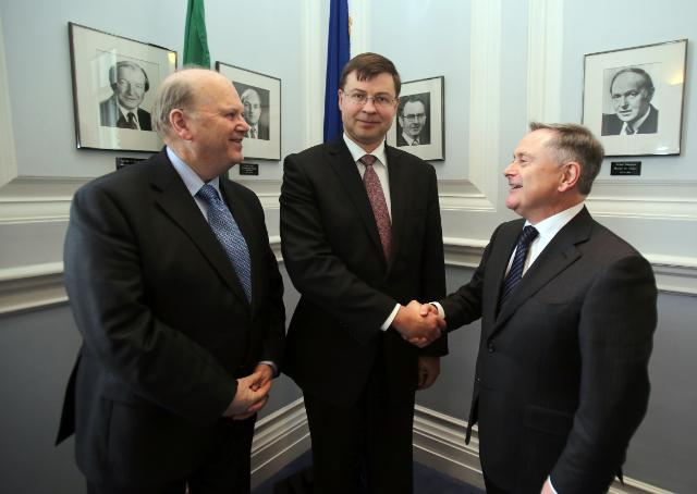Visit of Valdis Dombrovskis, Vice-President of the EC, to Ireland