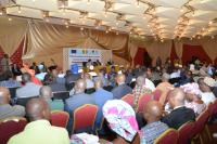 General view of the public attending the 5th international follow-up meeting to the Donor Conference