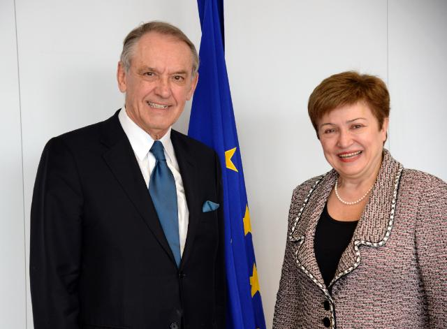 Visite de Jan Eliasson, secrétaire général adjoint des Nations unies, à la CE