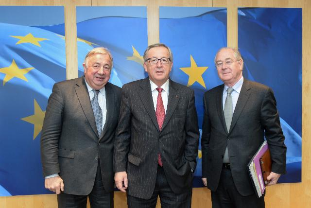 Visit of Gérard Larcher, President of the French Senate, to the EC