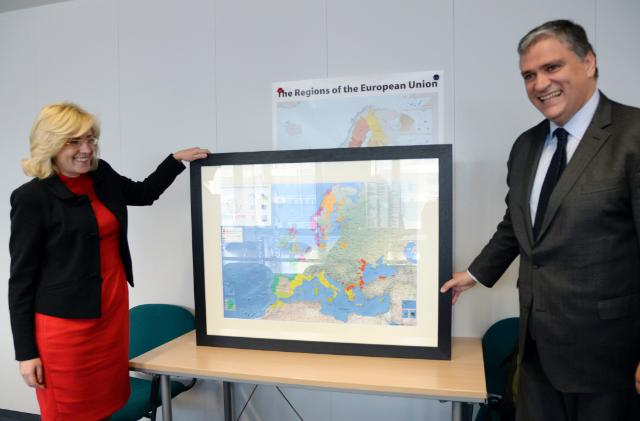 Visit of Vasco Cordeiro, President of the CPMR, to the EC
