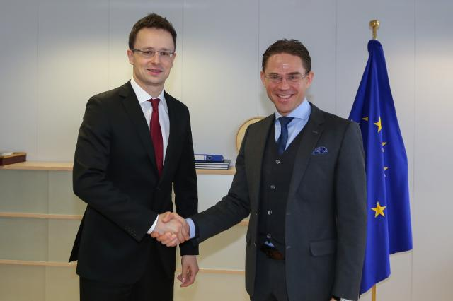 Visit of Péter Szíjjártó, Hungarian Minister for Foreign Affairs and Trade, to the EC