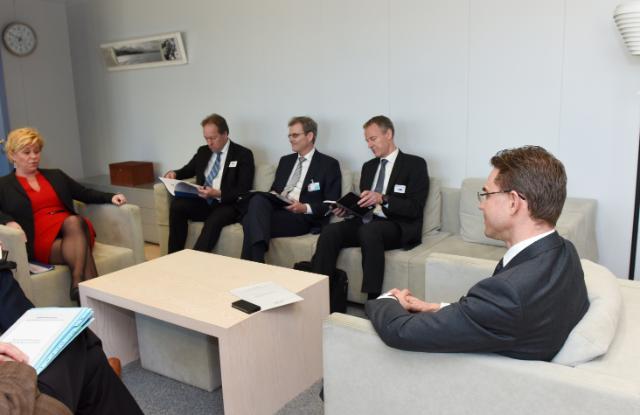 Visit of Siv Jensen, Norwegian Minister for Finance, to the EC