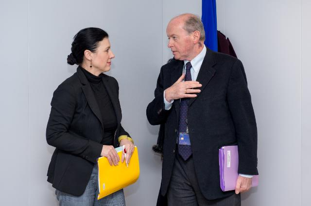 Visit of Jacques Toubon, French Ombudsman, to the EC