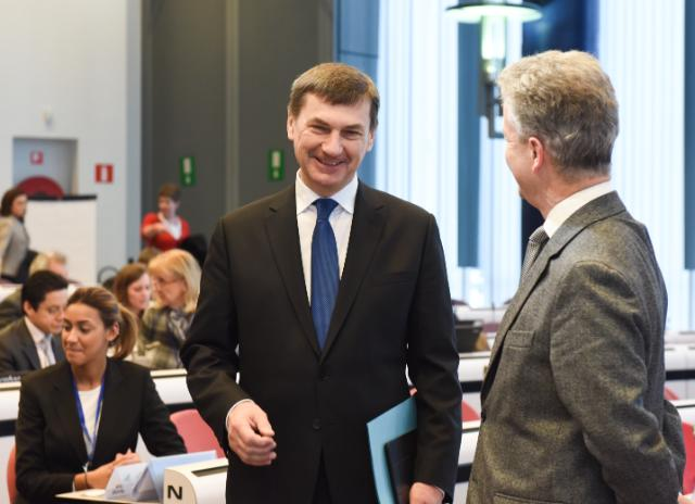 Participation of Andrus Ansip, Vice-President of the EC, and Günther Oettinger, Member of the EC, in the #Digital4EU Stakeholder Forum