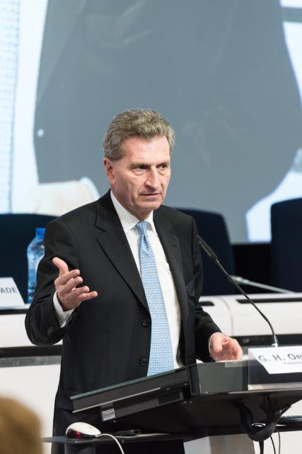 Participation d'Andrus Ansip, vice-président de la CE, et Günther Oettinger, membre de la CE, au Forum des parties prenantes #Digital4EU