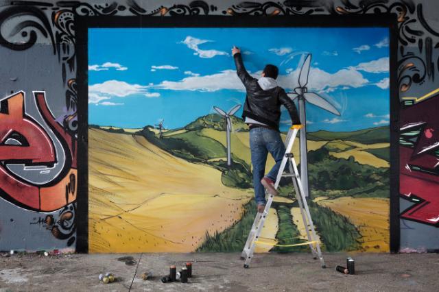 Dix priorités pour l'UE : graffitis