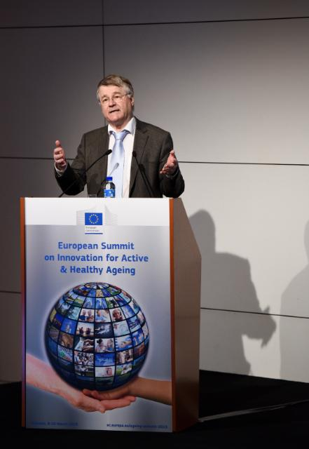 European Summit on Innovation for Active and Healthy Ageing, Brussels, 09-10/03/2015