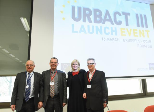 Launch of the URBACT III programme, with the participation of Corina Creţu, Member of the EC