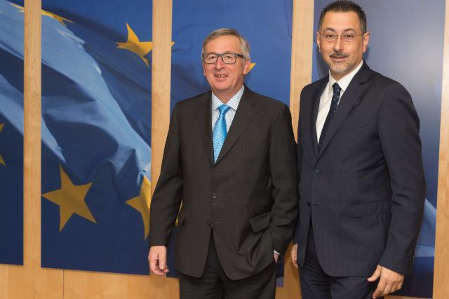 Visit of Marcello Pittella, President of the region of Basilicata, to the EC