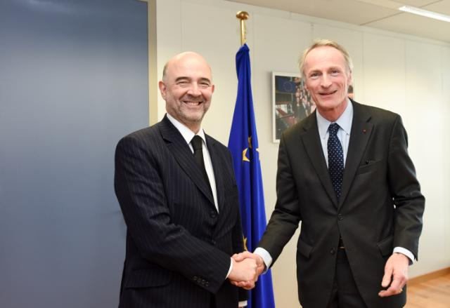 Visit of Jean-Dominique Senard, CEO and Managing General Partner of the Michelin Group, to the EC