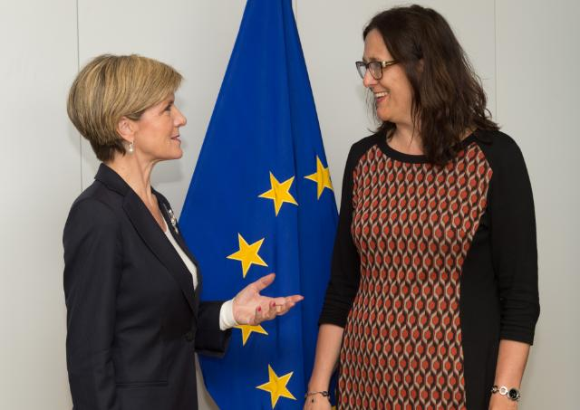 Visit of Julie Bishop, Australian Minister for Foreign Affairs, to the EC