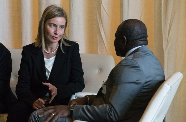 Visit of Federica Mogherini, Vice-President of the EC, to New York