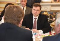 Visit of Valdis Dombrovskis, Vice-President of the EC, to Belgium