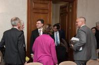 Visite de Valdis Dombrovskis, vice-président de la CE, en Belgique
