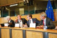 """Illustration of """"Johannes Hahn participates in the Conference Eastern Partnership – A Partnership of Free Choice at the..."""