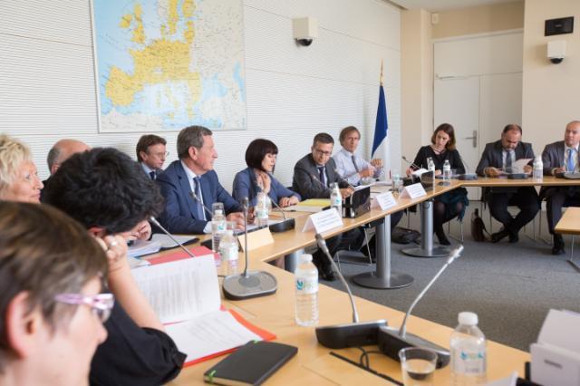 Visite de Carlos Moedas, membre de la CE, en France