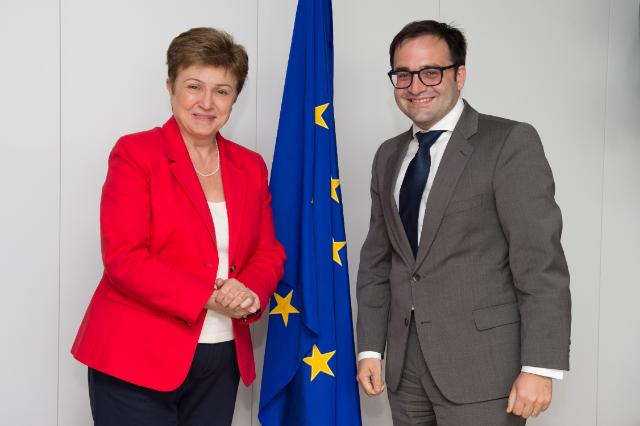Visit of Kalin A. Anev Janse, Secretary General of the European Stability Mechanism, to the EC