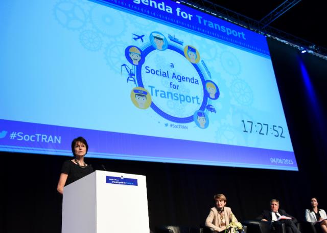 High level conference 'A Social Agenda for Transport'