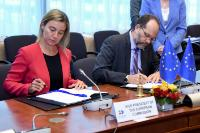 Participation of  Federica Mogherini, Vice-President of the EC, and Donald Tusk, President of the European Council, at the EU-CARIFORUM High Level Meeting
