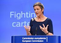 Conférence de presse de Margrethe Vestager, membre de la CE, sur deux cas de concurrence