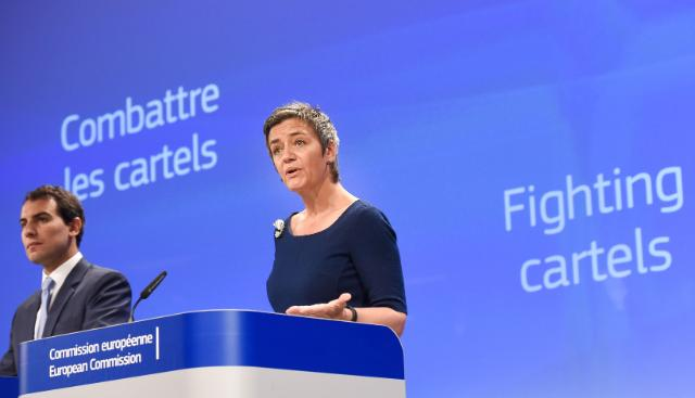Press conference by Margrethe Vestager, Member of the EC, on two competition cases