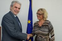 Visit of Stine Bosse, Chairwoman of BØRNEfonden and Vice-Chairwoman of ChildFund Alliance, to the EC