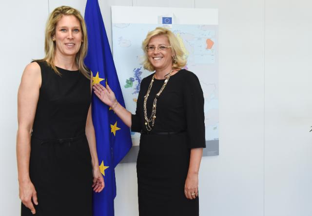 Visit of Silvana Koch-Mehrin, co-Founder and CEO of the 'Women in Parliaments (WIP) Global Forum', to the EC