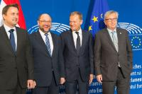 Participation of Jean-Claude Juncker, President of the EC, and several Members of the College of the EC in the EP plenary session of 06-09/07/15