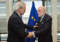 Visit of Vint Cerf, Vice-President of Google, to the EC