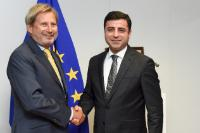 Visit of Selahattin Demirtaş, Co-Chair of the Turkish Peoples' Democratic Party, to the EC