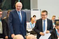 Participation of Phil Hogan et Carlos Moedas, Members of the EC, in the Bioeconomy Investment Summit