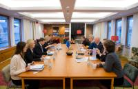 Visit by Valdis Dombrovskis, Vice-President of the EC, in Sweden