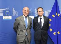 Visite de Francesco Starace, PDG et directeur general d'ENEL, à la CE