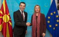 Visit of Nikola Poposki, Minister for Foreign Affairs of the former Yugoslav Republic of Macedonia, to the EC