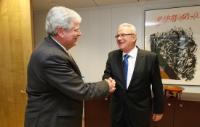 Visite d'Igor Slobodník, secrétaire d'État slovaque au ministère des Affaires étrangères et européennes, à la CE