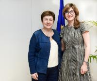 Visit of Ekaterina Zaharieva, Bulgarian Minister for Justice, to the EC