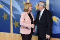 Visit of Hannelore Kraft, Minister-President of the Land of North Rhine-Westphalia, to the EC