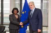 Visit of Diane Abbott, British Shadow Secretary of State for International Development, to the EC