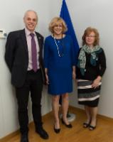 Visit of Conny Lenneberg, Regional Leader for the Middle East and Eastern Europe at World Vision International, to the EC