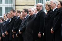 Participation de Jean-Claude Juncker, président de la CE, et Frans Timmermans, premier vice-président de la CE, au Parlement fédéral belge, à un hommage rendu aux victimes des attentats terroristes du 22 mars à Bruxelles