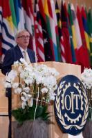 Participation de Jean-Claude Juncker, président de la CE, à la Conférence internationale du Travail