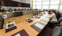 Visite d'un groupe de maires bulgares à la CE