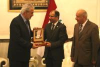 Visite de Christos Stylianides, membre de la CE, en Irak