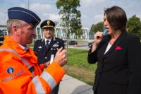 Participation of Violeta Bulc, Member of the EC, in the road safety campaign as part of European Mobility Week and 'European Day without a Road Death'