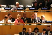 Participation of several members of the College at the United Nations Summit for Refugees and Migrants at the UN Headquarters, New-York