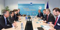 Visit of Ahmed Aboutaleb, Mayor of Rotterdam, to the EC